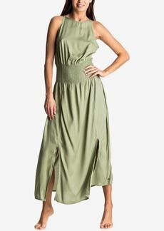 Roxy Juniors' Havana Smocked-Waist Maxi Dress