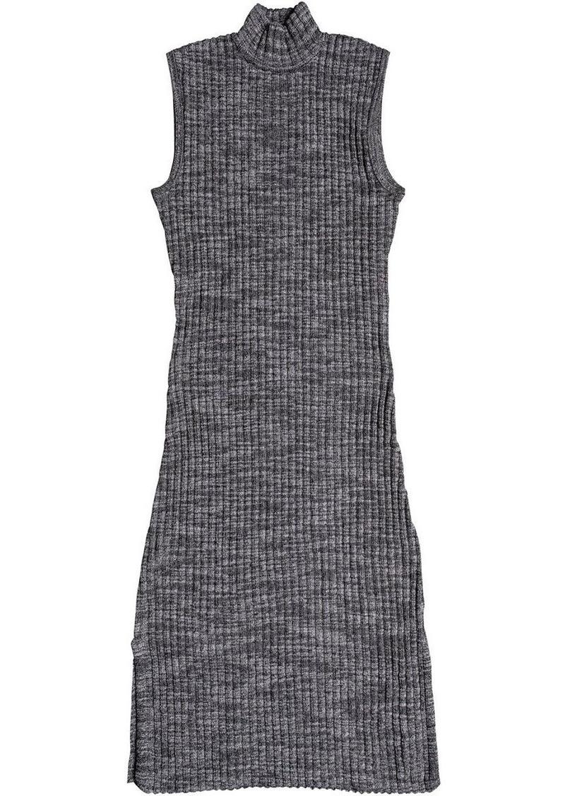 ROXY Junior's Hello Fall Bodycon Long Sleeve Dress  XS