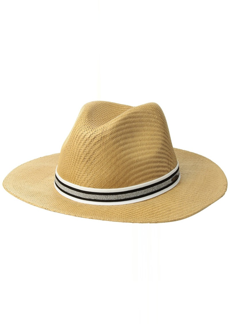 Roxy Junior's Here We Go Straw Panama Hat  S/M