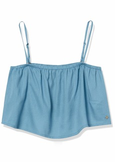 Roxy Junior's High Hopes Cropped Top  M