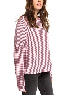 Roxy Juniors' Holiday Everyday Striped Top