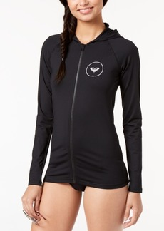 Roxy Juniors' Hooded Rash Guard Women's Swimsuit
