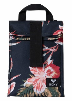 Roxy Junior's Hour Lunch Bag anthracite castaway floral