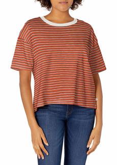 Roxy Junior's Infinity is Beautiful T-Shirt auburn Indie Stripes L