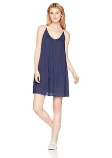 ROXY Junior's Intentions Dress deep Cobalt S