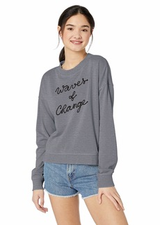 ROXY Junior's Journey Home Crew Neck Sweatshirt  XS
