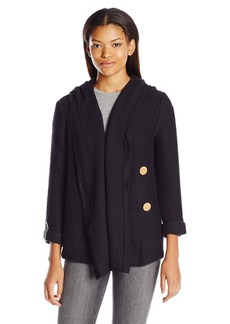 Roxy Juniors Knot a Care Fleece Sweatshirt  Medium