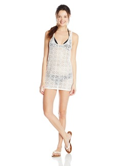 Roxy Junior's Lacy Days Diamond Cover Up Dress Sea Spray