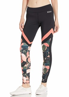 Roxy Junior's Lead by The Slopes Pant living coral plumes L