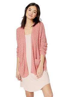 ROXY Junior's Liberty Discover Cardigan BRANDIED Apricot L
