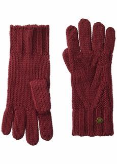 Roxy Junior's Lovers Soul Gloves oxblood red