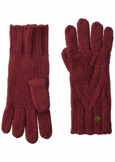Roxy Junior's Lovers Soul Gloves oxblood red