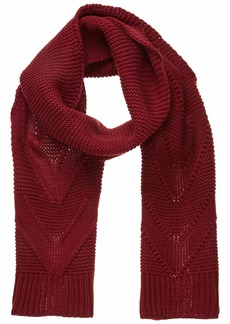 Roxy Junior's Lovers Soul Scarf oxblood red