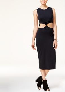 Roxy Juniors' Mayblossom Cotton Waist-Cutout Dress