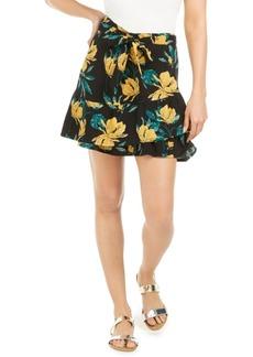 Roxy Juniors' Mi Mascota Floral-Print Skirt