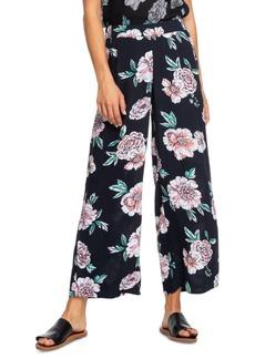 Roxy Juniors' Midnight Avenue Floral-Print Soft Pants