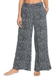 Roxy Juniors' Midnight Avenue Printed Wide-Leg Pants
