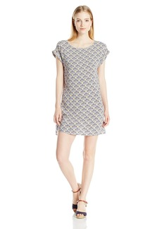 Roxy Juniors Morris Printed Woven Shift Dress