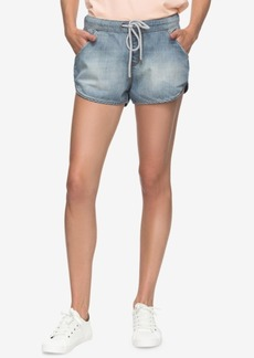 Roxy Juniors' Music Never Stop Denim Shorts