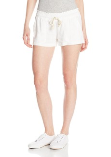 Roxy Junior's Oceanside Short Elastic Waist Non Denim Shorts