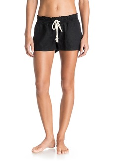 Roxy Junior's Oceanside Short Elastic Waist Non Denim Shorts
