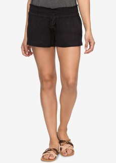 Roxy Juniors' Oceanside Textured Soft Shorts