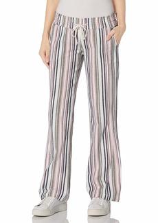 Roxy Junior's Oceanside Yarn Dye Pant  LG (US 11)