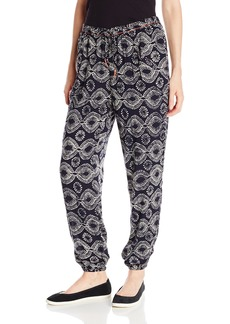 Roxy Juniors Only You Printed Harem Soft Pant  X-Small
