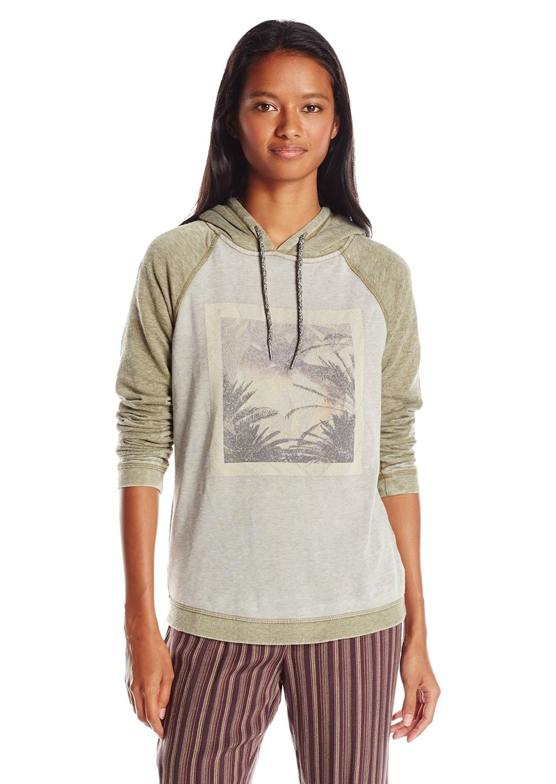 Roxy Juniors Palm Bazaar Best of Time Fleece Sweatshirt