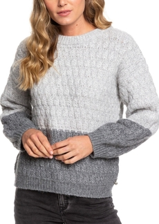 Roxy Juniors' Polaroid Girl Colorblocked Sweater