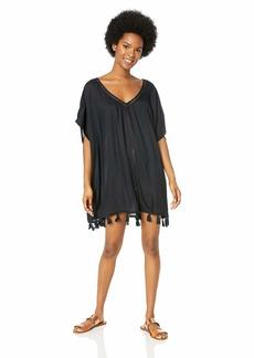 Roxy Junior's Ponco Swim Cover-Up Dress  M/L