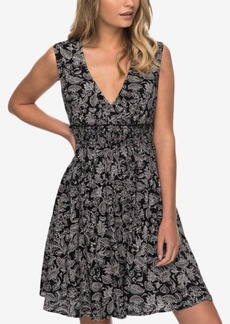 Roxy Juniors' Printed A-Line Dress