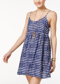 Roxy Juniors' Printed Babydoll Dress