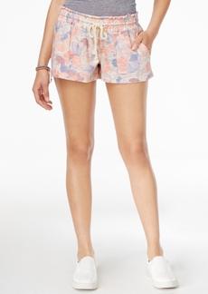 Roxy Juniors' Printed Drawstring Beach Shorts