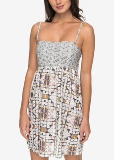 Roxy Juniors' Printed Fit & Flare Dress