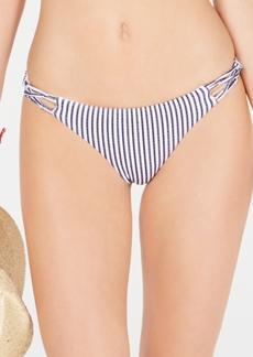 0d9569e3d8b39 Roxy Juniors' Printed Strappy Cheeky Bikini Bottoms Women's Swimsuit