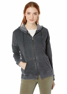 Roxy Junior's Rustling Leaves Zip-Up Hooded Sweatshirt  M