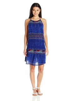 Roxy Juniors Sand Roast Sleeveless Dress into the Flow Combo Dazzling B