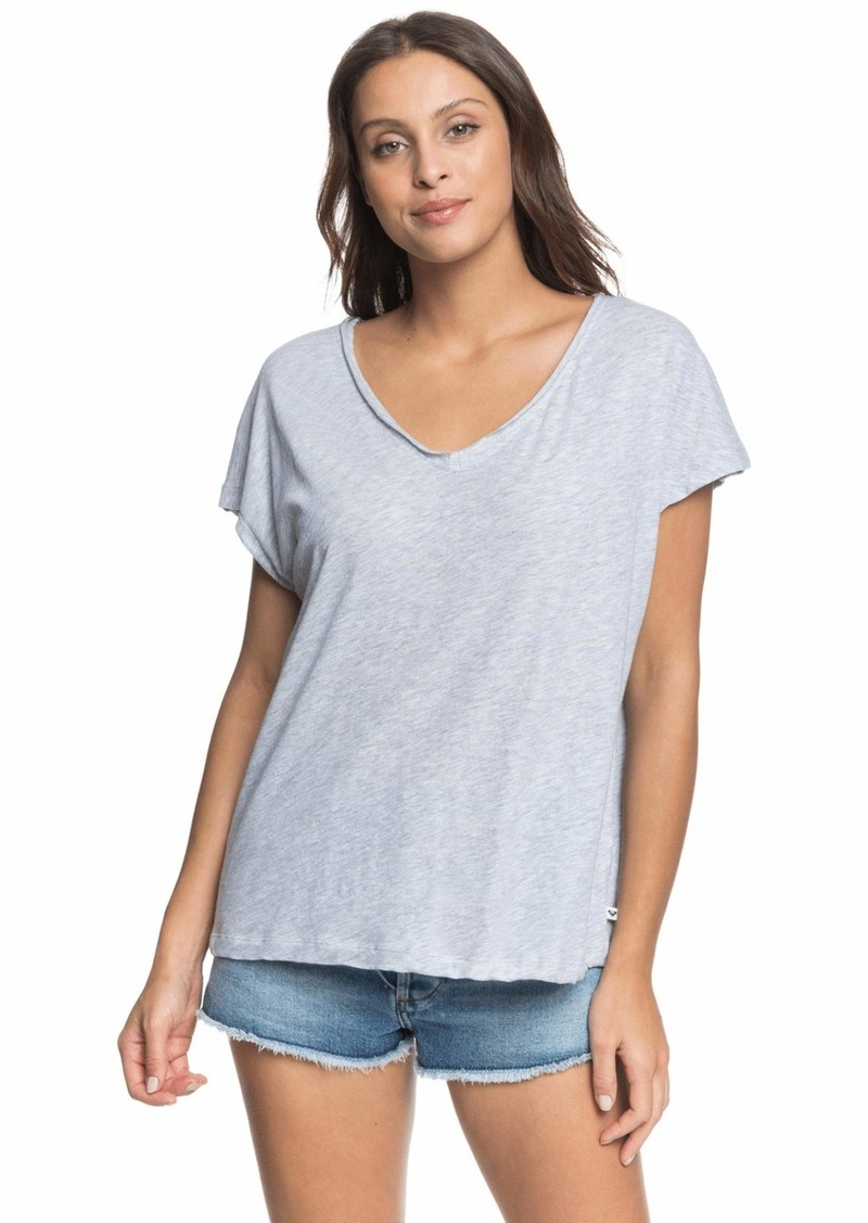 Roxy Junior's Secret Mix V-Neck T-Shirt  L