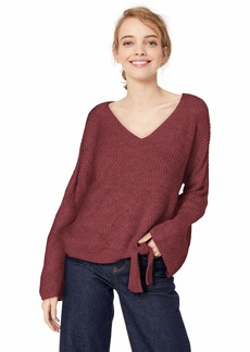 Roxy Junior's See You in Bali Sweater Oxblood red