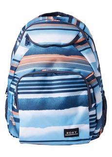 Roxy Junior's Shadow Swell Backpack air Blue Spray Stripe