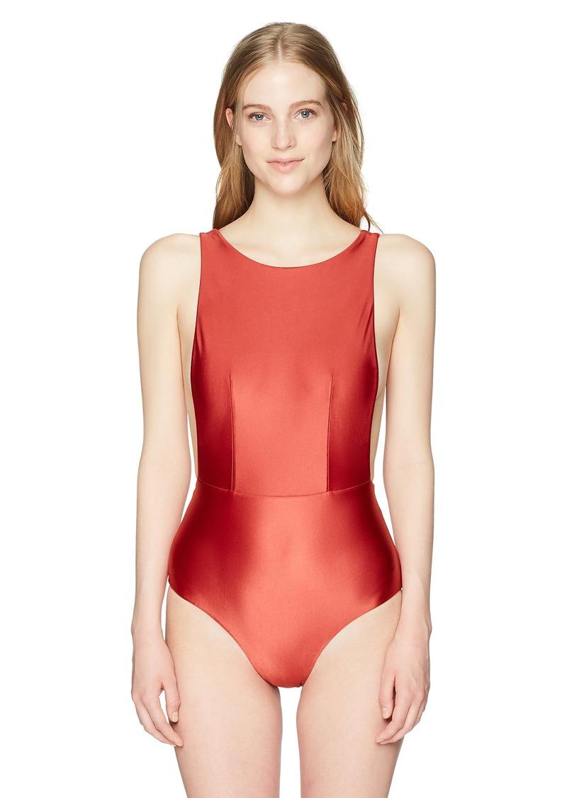 f842c982d78b5 Roxy Roxy Junior's Shiny Love One Piece Swimsuit L | Swimwear