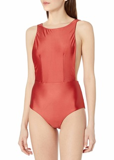Roxy Junior's Shiny Love One Piece Swimsuit  L