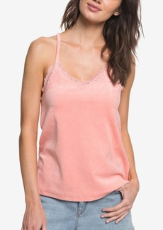 Roxy Juniors' Sierra Lace-Trimmed Cami Top