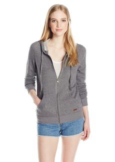 Roxy Junior's Signature Fleece Zip up Hoodie  L