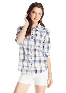 Roxy Junior's Sneaky Peaks Button Down Shirt  edium