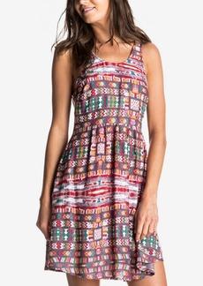 Roxy Juniors' So Smart Printed Fit & Flare Tank Dress