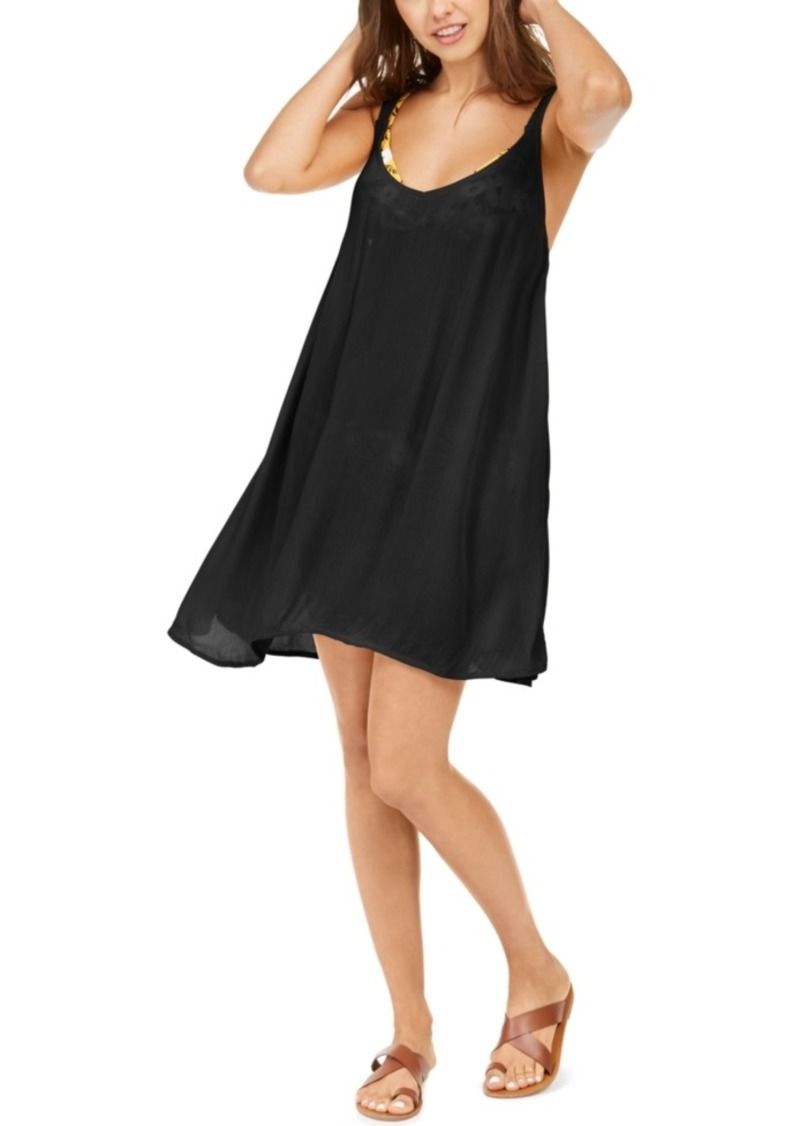 Roxy Juniors' Solid Chillday Cover-Up Dress Women's Swimsuit