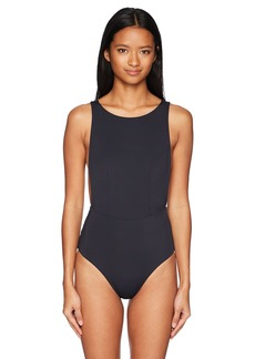 Roxy Junior's Solid Softly Love One Piece Swimsuit  L