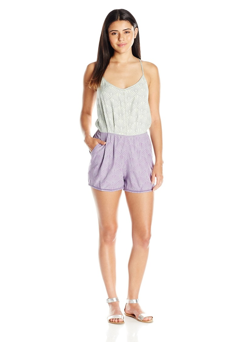 Roxy Junior's Spin Sail Sleeveless Romper in The in The Breeze Daybreak